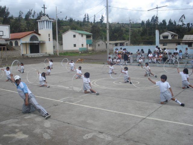 Die Freude der Kinder an Sport und rhythmischer Gymnastik ist spürbar.