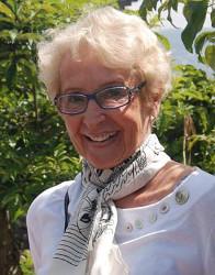 Ursula Hauser -  die Ehrenvorsitzende von Hilfe für Guasmo