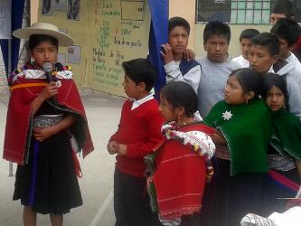 Wettbewerb in Salasaca